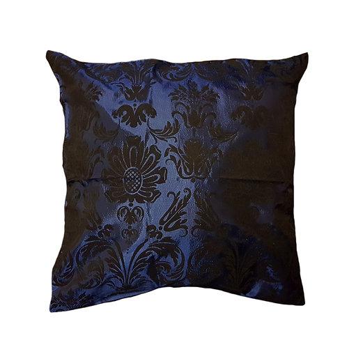 Navy blue & black pattern