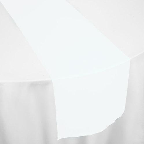 WHITE ORGANZA RUNNER