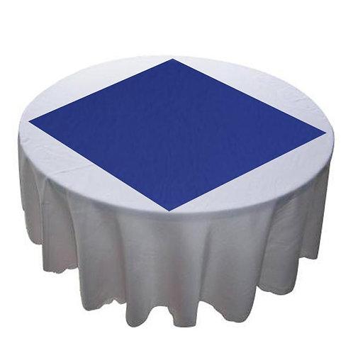 BLUE PLAIN TAFFETA OVERLAY
