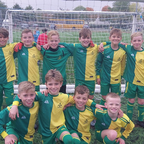 Winners of the Colchester Football Heats
