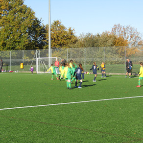 Girl's Football at Colchester