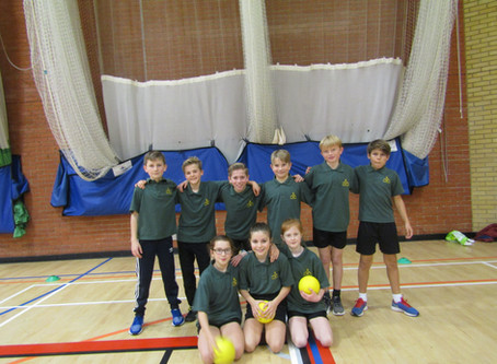Dodgeball Finalists at Colchester