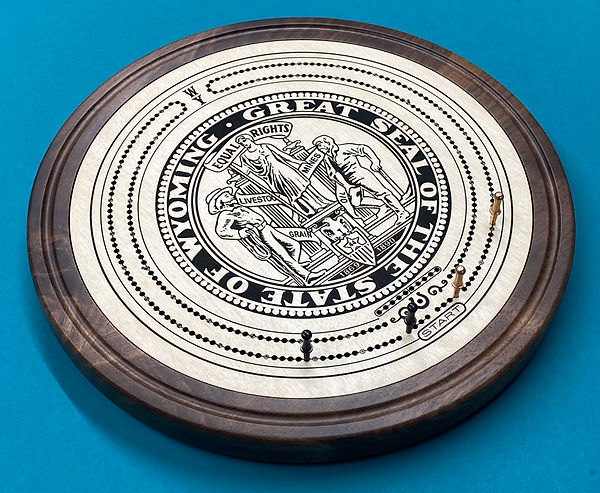New state seal cribbage board.jpg