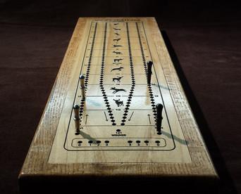 Tournament Cribbage Board