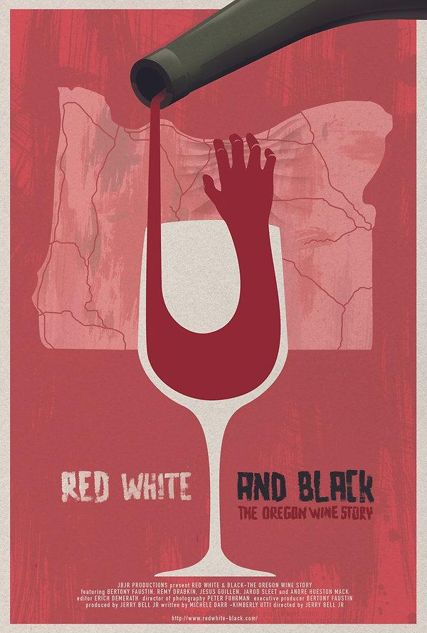 Red, White, and Black - Full Size & Med