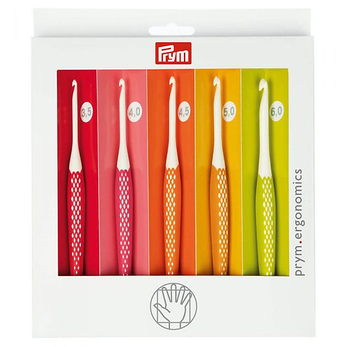 Kit de 5 Crochets ergonomiques PRYM