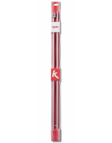 Aiguilles Aluminium 40 cm KATIA