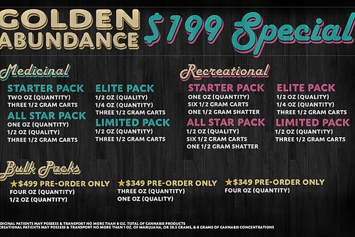 $199 2 OZ + 4 CARTS *Select One Option*