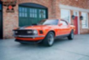 1970 Ford Mustang Mach 1 428 Cobra Jet