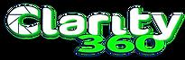 Clarity 360 logo blanc