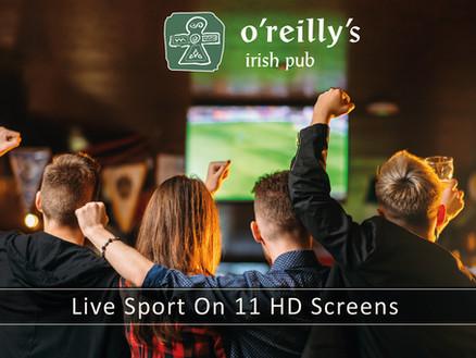 Live Sport @ o'reilly's Frankfurt