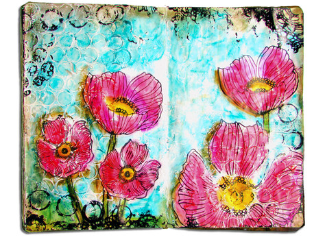 Adventure Journal  - Poppies