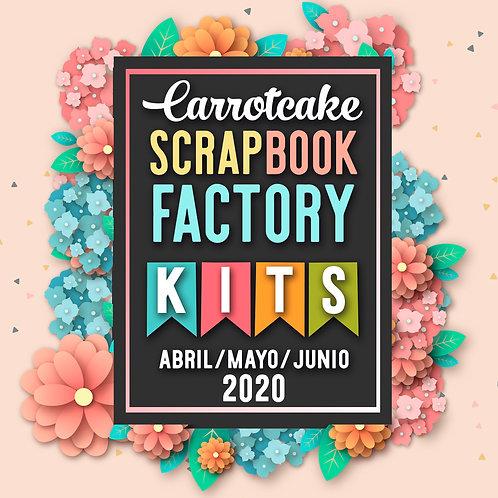Pack kits abril-mayo-junio 2020