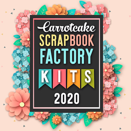 Scrapbook Factory 2020 premium +12 Kits