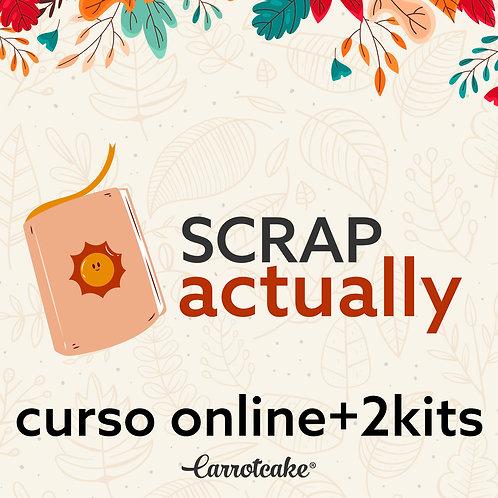 Scrap Actually - Curso online+2kit