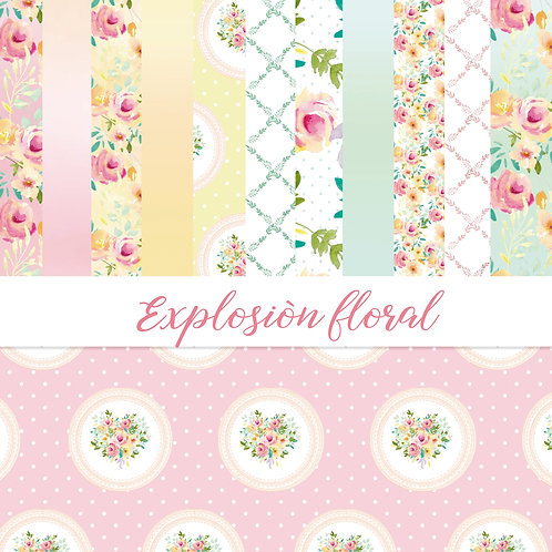 Colección Explosión floral
