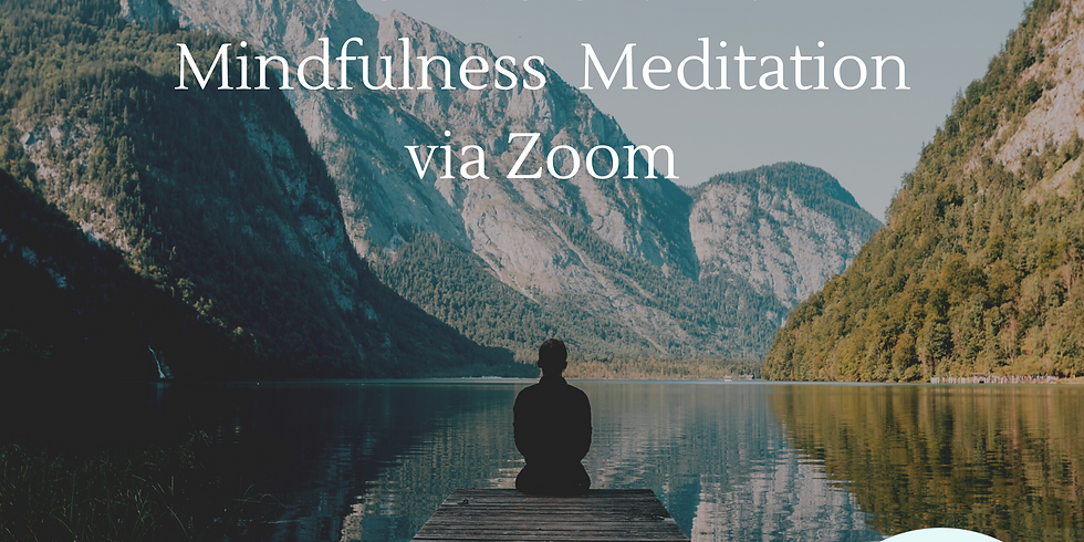 FREE Live online Meditation - Wednesdays 12:30pm