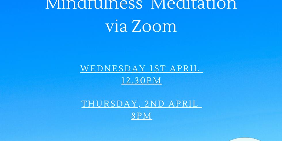 FREE LIVE ONLINE Mindfulness Meditation 2nd April (1)