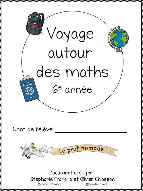 Voyage autour des maths (6e année)