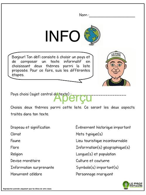 Info 🌍