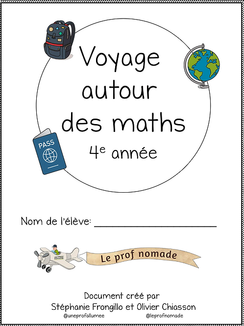 Voyage autour des maths (4e année)