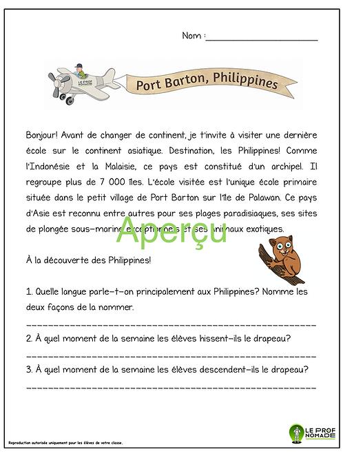 Épisode 9: Port Barton, Philippines (niveau 1)