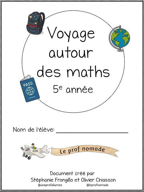 Voyage autour des maths (5e année)