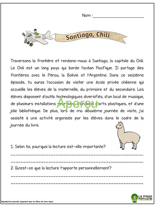 Épisode 16: Santiago, Chili (niveau 2)