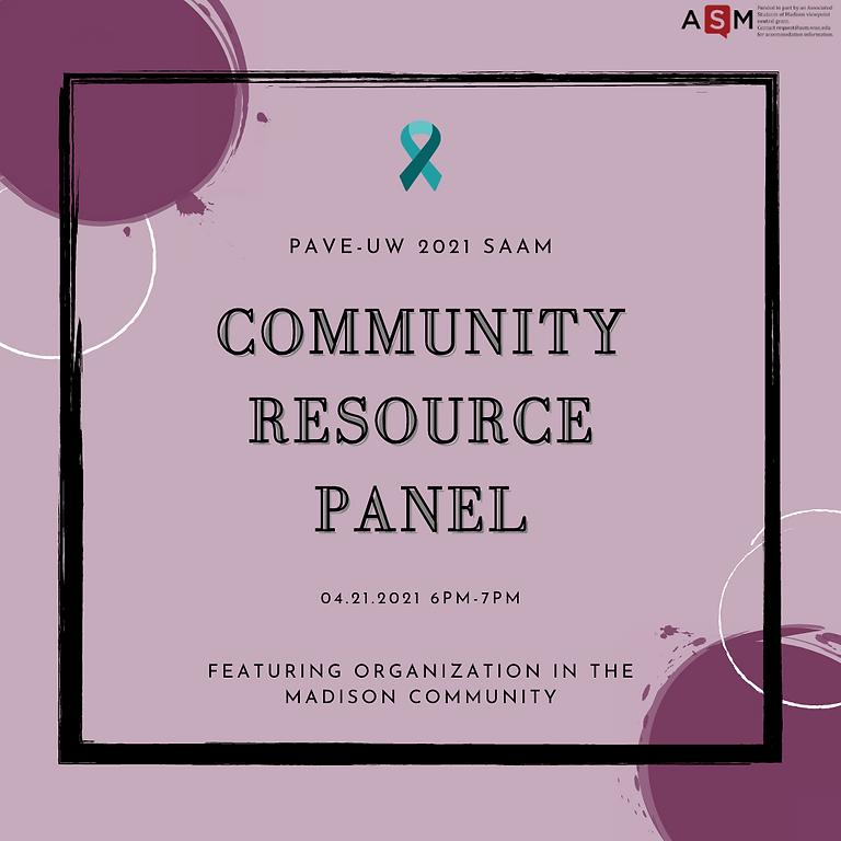 Community Resource Panel 2021
