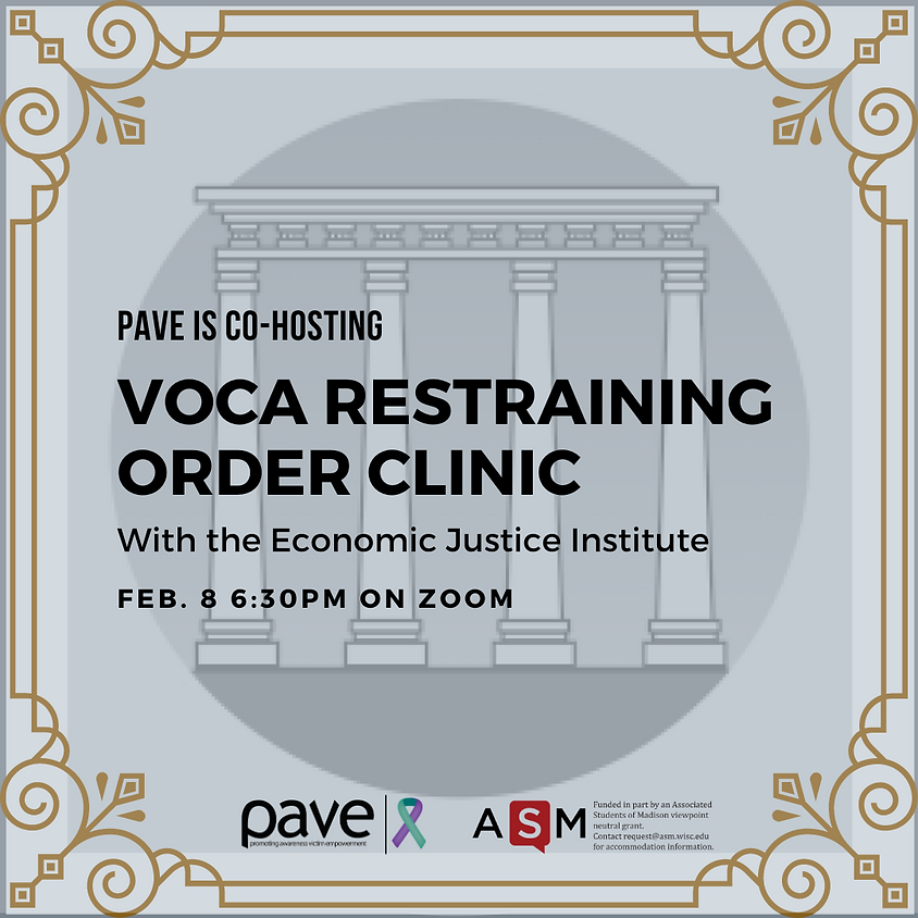 PAVE x VOCA Restraining Order Clinic