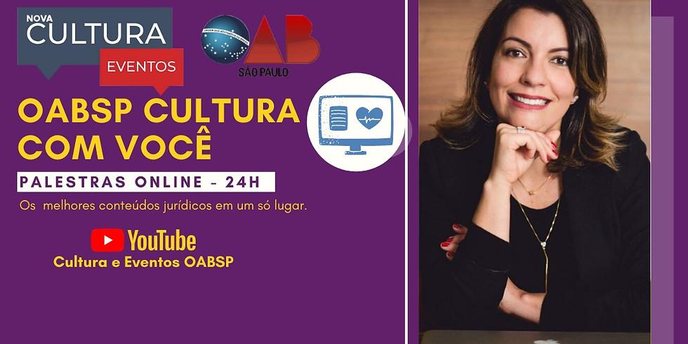 15/05/2020 às 10h   Palestra Online - Dra. Renata Domingues