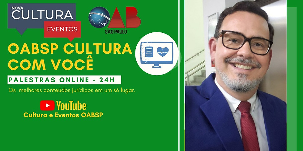 12/05/2020 às 19h   Palestra Online -  Dr. Fernando Peixoto