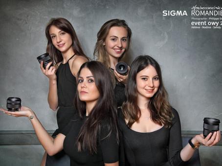 Retour sur 5 années d'Ambassadrices Sigma Romandie / Switzerland.