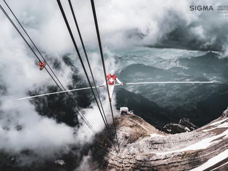 3 records du monde sur les câbles du téléphérique de Glacier 3000