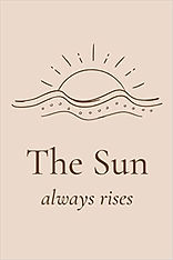 the sun always rises journal cover amazo