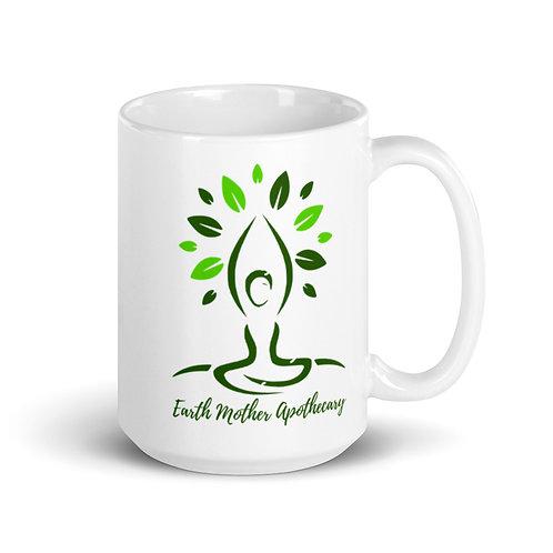 EMA logo and name mug