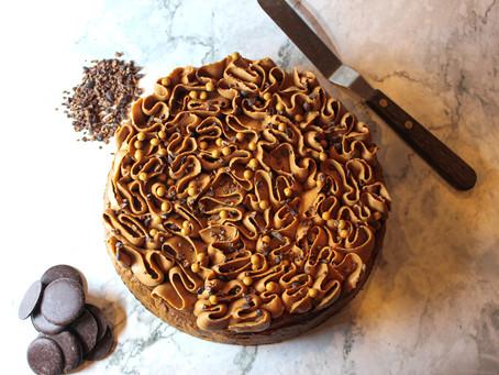 66% Dark chocolate cake recipe