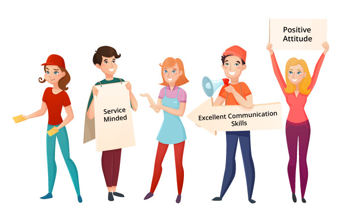 Hostesses and hosts important for your event or conference in Brussels