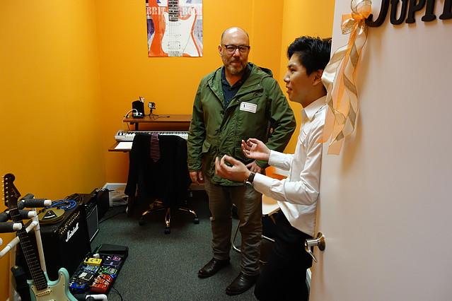 Adam Levy and our guitar teacher