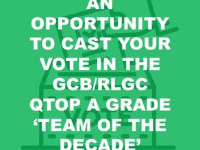 GCB/RLGC QTOP A Grade 'Team of the Decade'