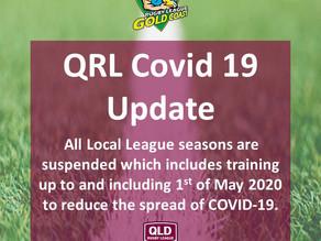 QRL Covid 19 Update
