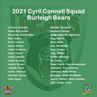2021 Gold Coast Cyril Connell Squads Announced - Burleigh Bears & Tweed Heads Seagulls