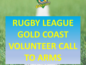 Rugby League Gold Coast Volunteer Call to Arms