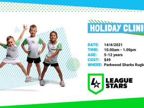 🏉 Parkwood Sharks League Stars Holiday Clinic 🏉