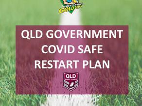 QRL Coronavirus updates: COVID Safe Restart Plan
