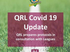 QRL Coronavirus Updates: QRL Prepares Protocols