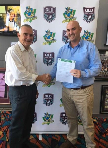 Burleigh Bears Leagues Club - Ian & RLGC Manager Scott Dunshea