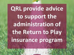 Player Insurance Update