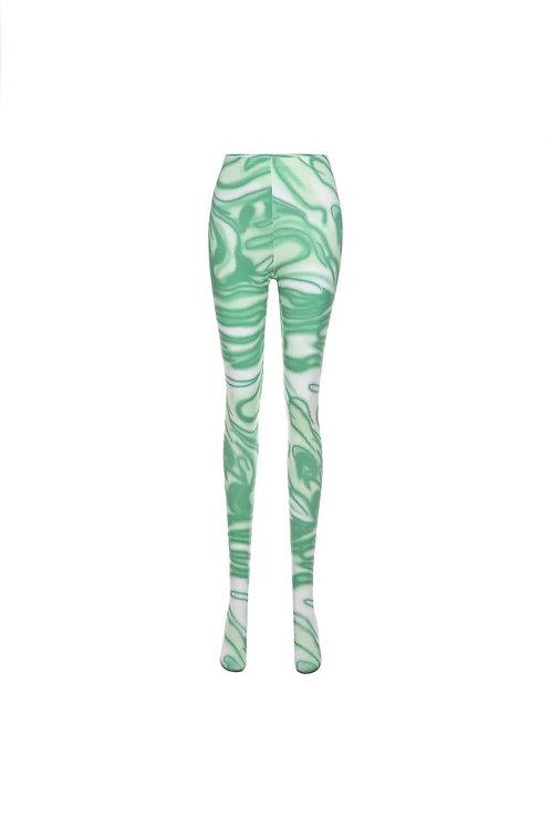 Minty Swirl Leggings