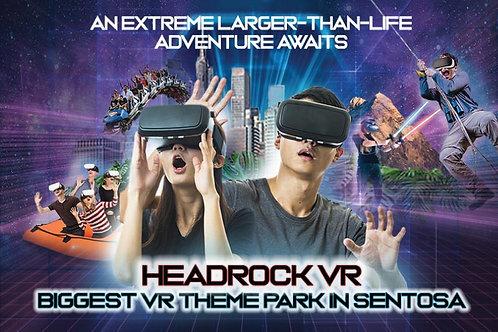 Singapore Sentosa Headrock VR Package